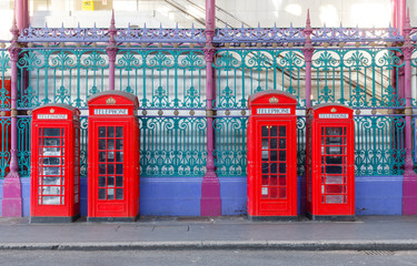 Red Phone Booths