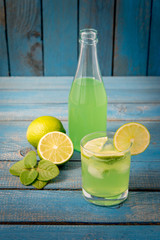 Citrus homemade lemonade