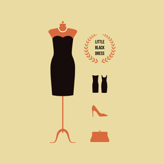 Vector fashion background.