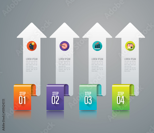 Infographic design icons