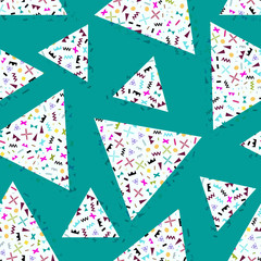 seamless background geometric triangle