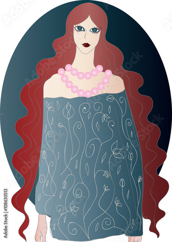 24244eb9b13 The Ghost of the Lady with Red Wavy Hair