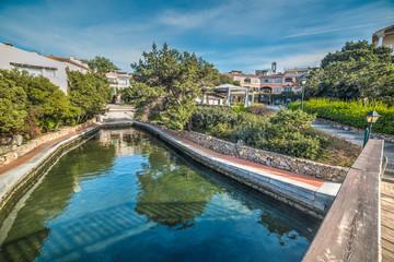 small canal in Porto Rotondo