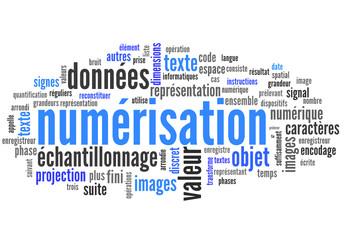 Numérisation  (données, dossier)