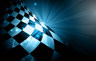 Racing square background, vector illustration abstraction in racing car track