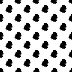 Turkey pattern seamless