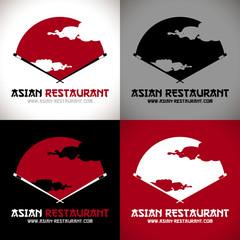 restaurant japonais logo cuisine japonaise sushi