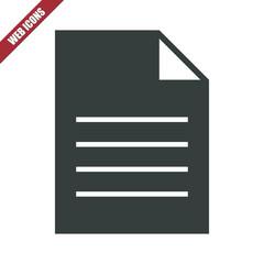 Solid file icon