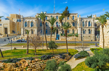The French Hospital in Jerusalem