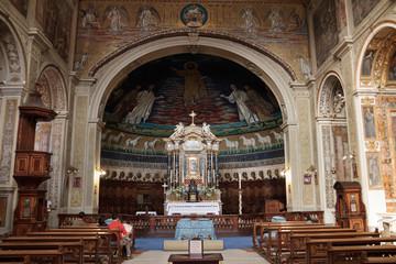 Inside a Roman Church