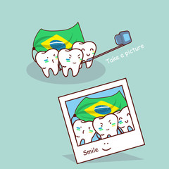 brazil tooth take a picture
