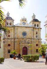 Колумбия. Картахена. Собор Сан-Педро Клавера.