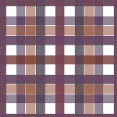 Seamless Plaid Fabric Pattern, Graphic Illustration