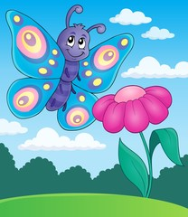 Happy butterfly topic image 5