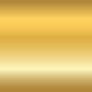 Gold texture seamless pattern. Light realistic, shiny, metallic empty golden gradient template. Abstract metal decoration. Design for wallpaper, background, wrapping, fabric etc. Vector Illustration.