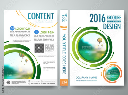 brochure design template vector annual report flyers poster magazine leaflet cover presentation with balloon