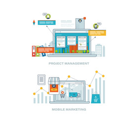 Business analysis, consulting, strategy planning, project management, mobile marketing