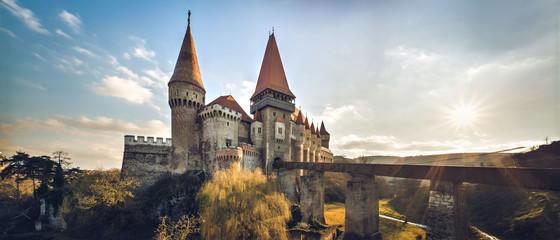 Keuken foto achterwand Kasteel Corvin castle from Hunedoara, Romania, 14th century