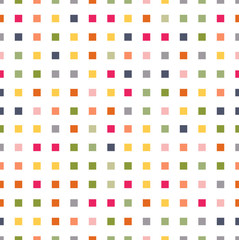 Seamless pattern colored blocks squares