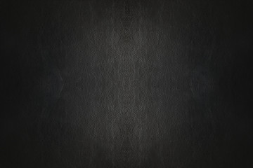 Luxury black leather pattern background texture, photography for design.