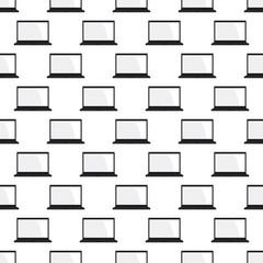 Laptop pattern seamless