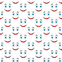 Smile pattern seamless