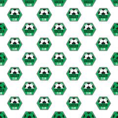 Soccer pattern seamless