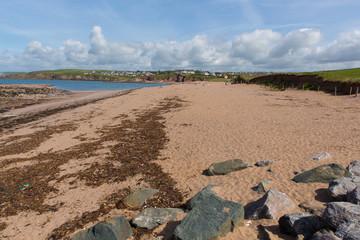 Wall Mural - Thurlestone beach South Devon England UK near Kingsbridge and Hope Cove