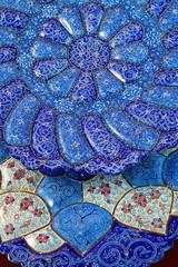 Mina Minakari Handicraft made in Esfahan Naqshe Jahan Square Iran