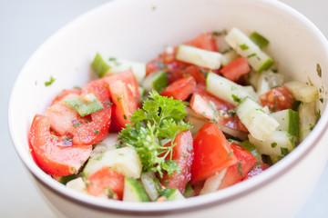 Schwarzbrot Salat