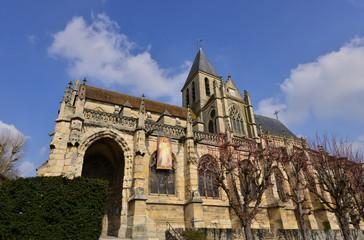 Triel sur Seine, France - march 1 2016 : church