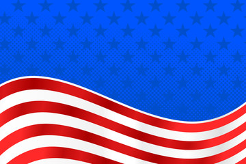 American Flag Background - United States