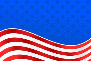 American Flag Background - United States