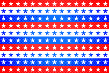 American Stars and Stripes Background