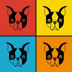 french bulldog design
