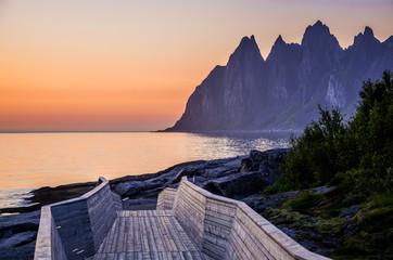 Sunset at Senja, Norway