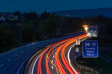 Autobahn Dreieck Mainz