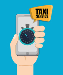 Car taxi icon. Public transport design. Taxi cab. Flat Style