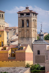 Rooftops of Segovia, Spain