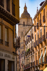 Street View of the Segovia Cathedral