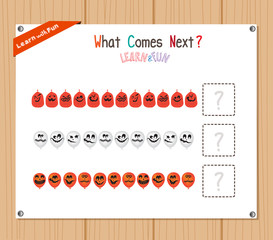 Completing the Pattern Educational Game for Preschool Children