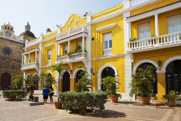 Колумбия. Картахена. Старый город.