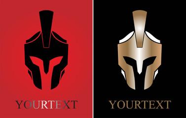 Centurion warrior. Knight. Trojan warrior. Guard Icon.