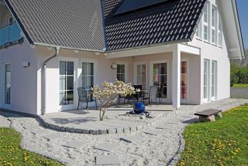 Terrassenbereich Einfamilienhaus