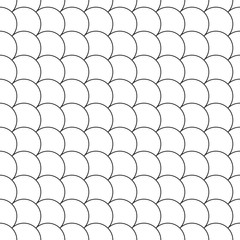simple seamless pattern diagonal fish scales