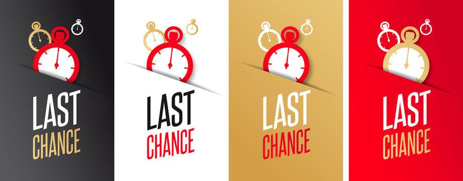 Last chance !