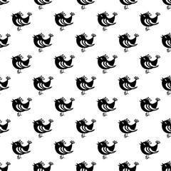 Bird pattern seamless