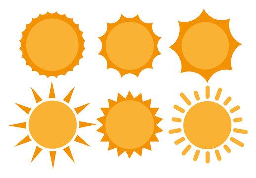 Sun, Sun Icon. Sun Icon Vector. Sun flat icon vector illustration
