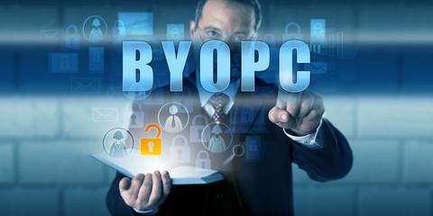 Managing Director Pushing BYOPC