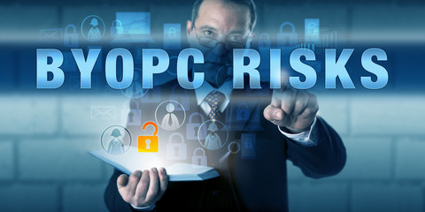 HR Director Touching BYOPC RISKS